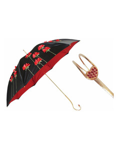 Poppies Umbrella, Double Cloth