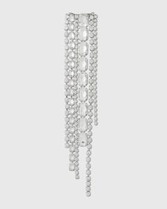 Baguette Crystal Fringe Hairclip