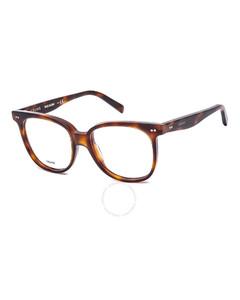 Ladies Tortoise Square Eyeglass Frames CL50010I05353