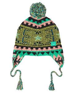 Woman Pompom-embellished Jacquard-knit Wool Beanie