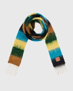 Striped Scarf In Mohair