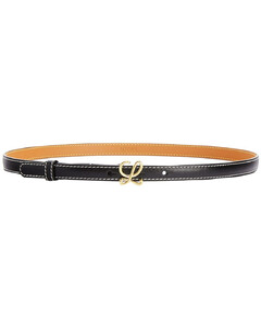 20mm L Buckle Leather Belt