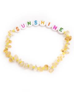Sunshine - Citrine Crystal Healing Bracelet