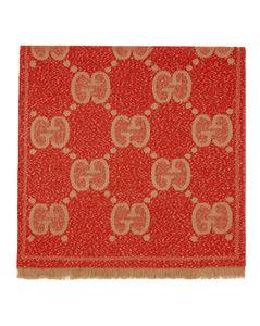 红色Lady Nest Lux围巾