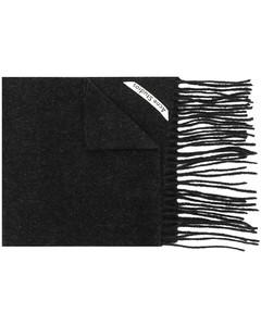 Canada窄式流蘇圍巾