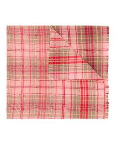 Cassiar方格纹超大款围巾