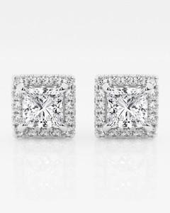 Skull-print silk-twill scarf