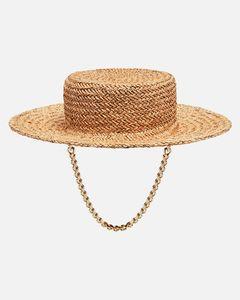 Wide-brimmed hat