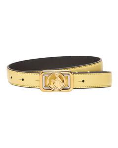 30mm Mini Swan Leather Belt
