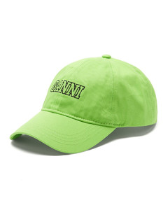 Logo-embroidered organic-cotton baseball cap