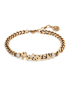 Woman Faux Fur-paneled Leather Gloves