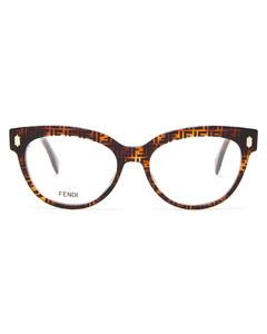 FF cat-eye acetate glasses