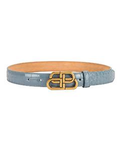 BB Thin Belt in Blue