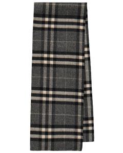 格纹羊毛围巾