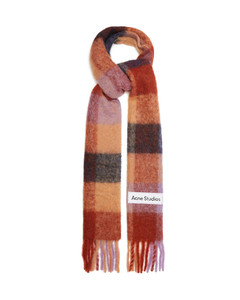 Vally checked scarf