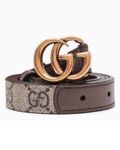 Brown GG Marmont belt
