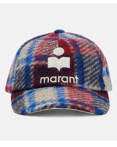 Punk pendant-drop chain necklace