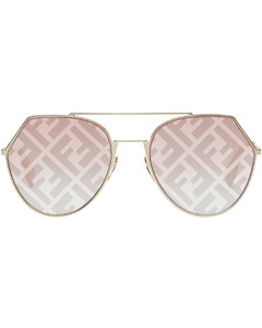 Daisy crystal-embellished hair clip - set of two
