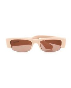 格纹羊驼毛混纺毯子