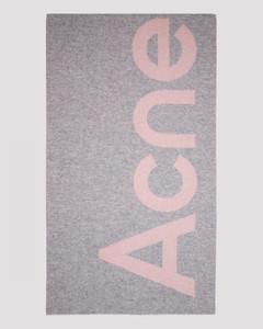 Wool Logo Scarf