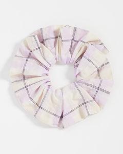泡泡纱格纹发带