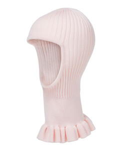 Gaia罗纹针织羊毛围脖