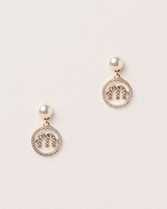 pendant earrings with pearls