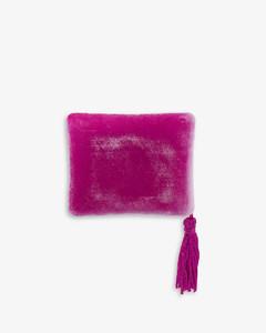 辫式编织人字纹针织头巾