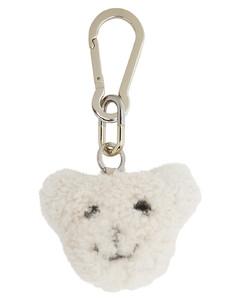 白色Bear剪羊毛钥匙扣