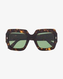 Ring flower - emerald