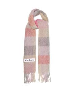 Vally striped alpaca-blend scarf