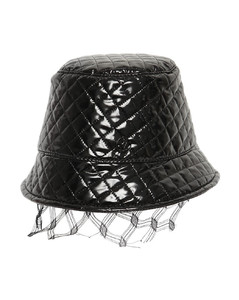 Souna Quilted Varnish Hat