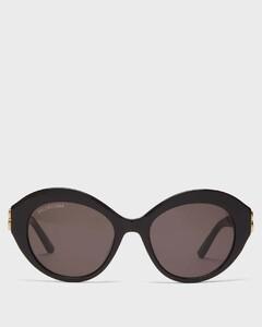 Dynasty oval acetate sunglasses