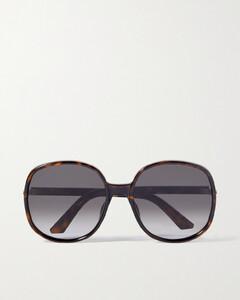 Story round acetate sunglasses