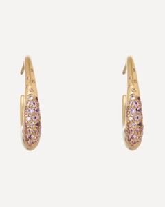 Ladies Brown GG Belt With Double G Buckle