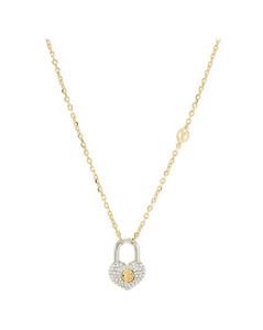 Crazy In Lock Strass Supple Necklace