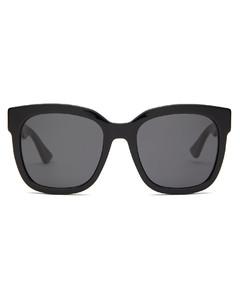 GG square acetate sunglasses