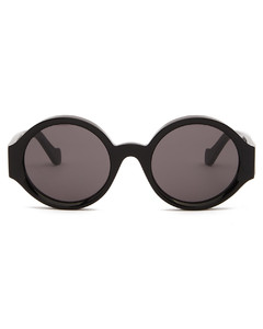 Story Anagram-logo round acetate sunglasses