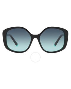 Pentagonal acetate sunglasses
