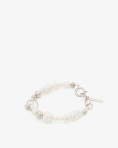 Mushroom crystal-embellished earrings