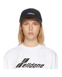 黑色徽标棒球帽