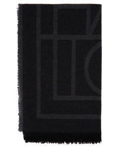 灰色Como围巾