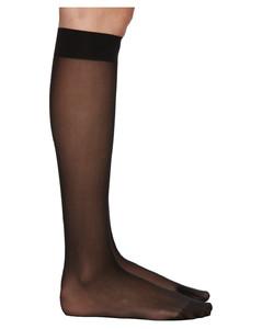 黑色Individual 10高筒袜