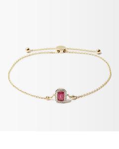 Horse-embroidered suede belt