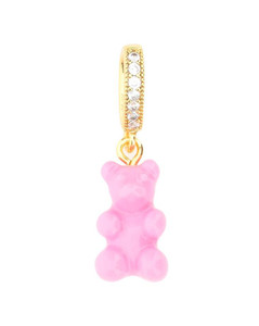 GG silk neck bow with Flora print