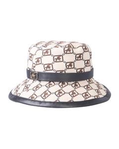 CAP WITH LOGO PRINT