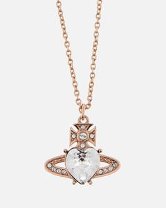 Women's Ariella Pendant - Pink Gold Crystal