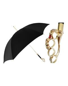 Women Luxury Brass Knuckle handle Umbrella