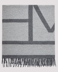 Totême Monogram Wool Scarf