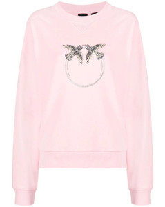 Monogram Print Cotton Silk Large Square Scarf